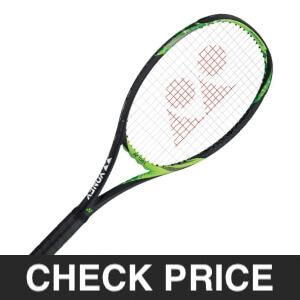 Lime Green Tennis Racquet