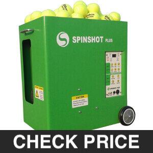 Spinshot Plus Tennis Ball Machine review