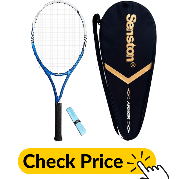 Senston 27 inch Professional Tennis Racquet With cover