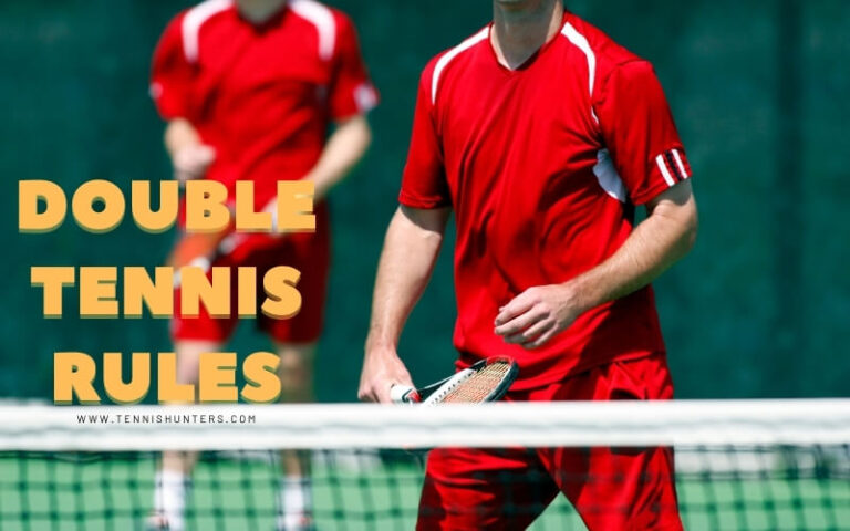 Double tennis rules