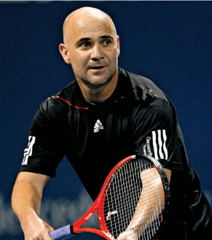 Andre Agassi tennis player