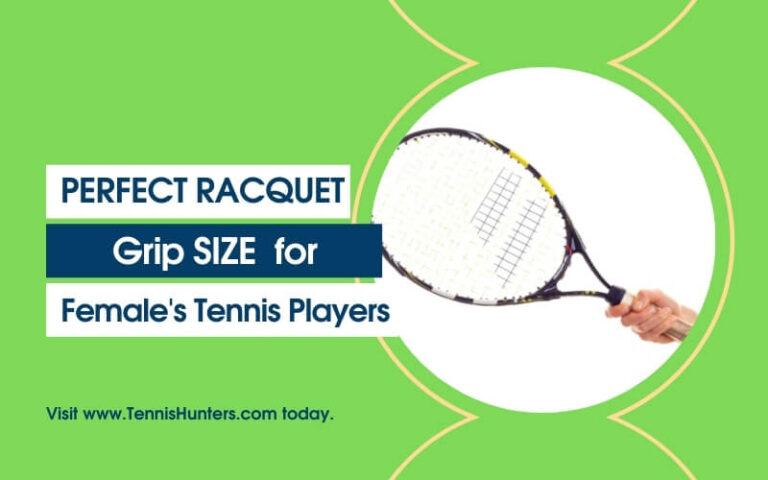 Racquet grip size for females