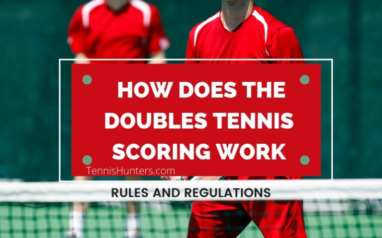 how does the doubles tennis scoring work