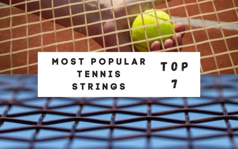 most popular tennis strings