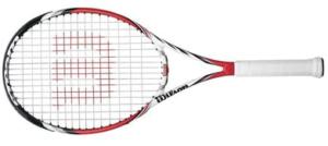 racquet features Spin Effect Technology